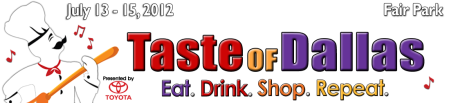 Taste of Dallas Logo 2012